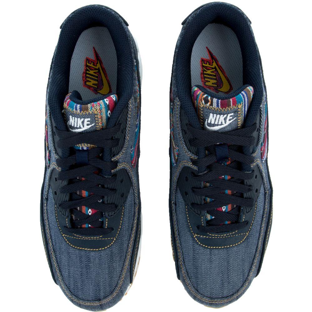sports shoes e99c5 19adc AIR MAX 90 PREMIUM DARK OBSIDIAN DARK OBSIDIAN-SUMMIT WHITE
