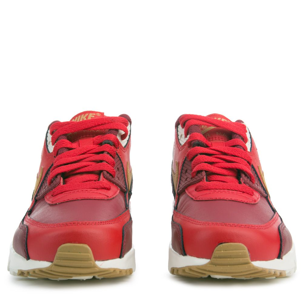 bb159b2a86b8 Air Max 90 Leather GAME RED ELEMENTAL GOLD TEAM RED SAIL