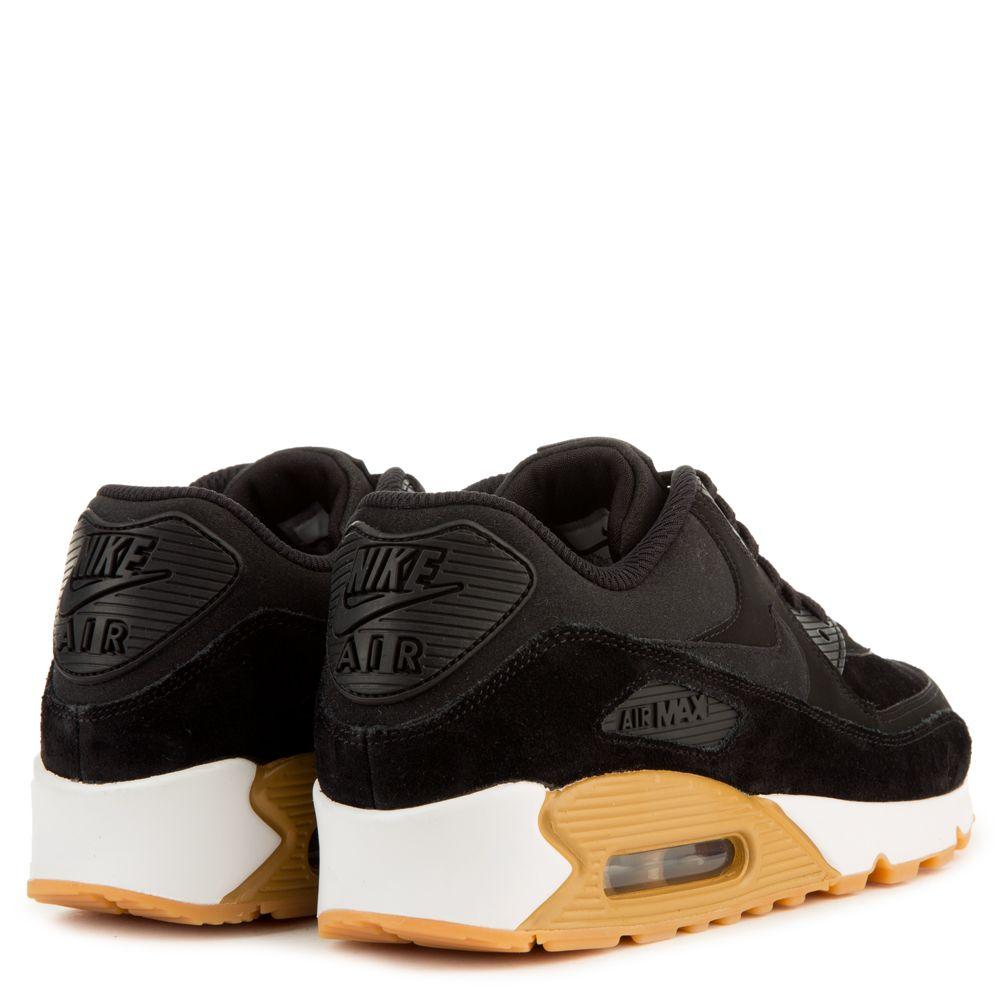 air max black white