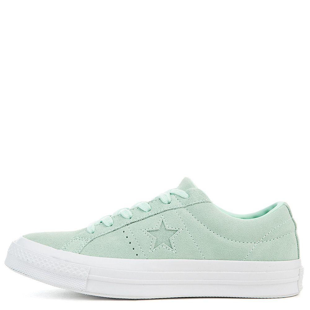 343efd7df6 Women's One Star Suede Ox Sneaker mint foam/mint foam/white