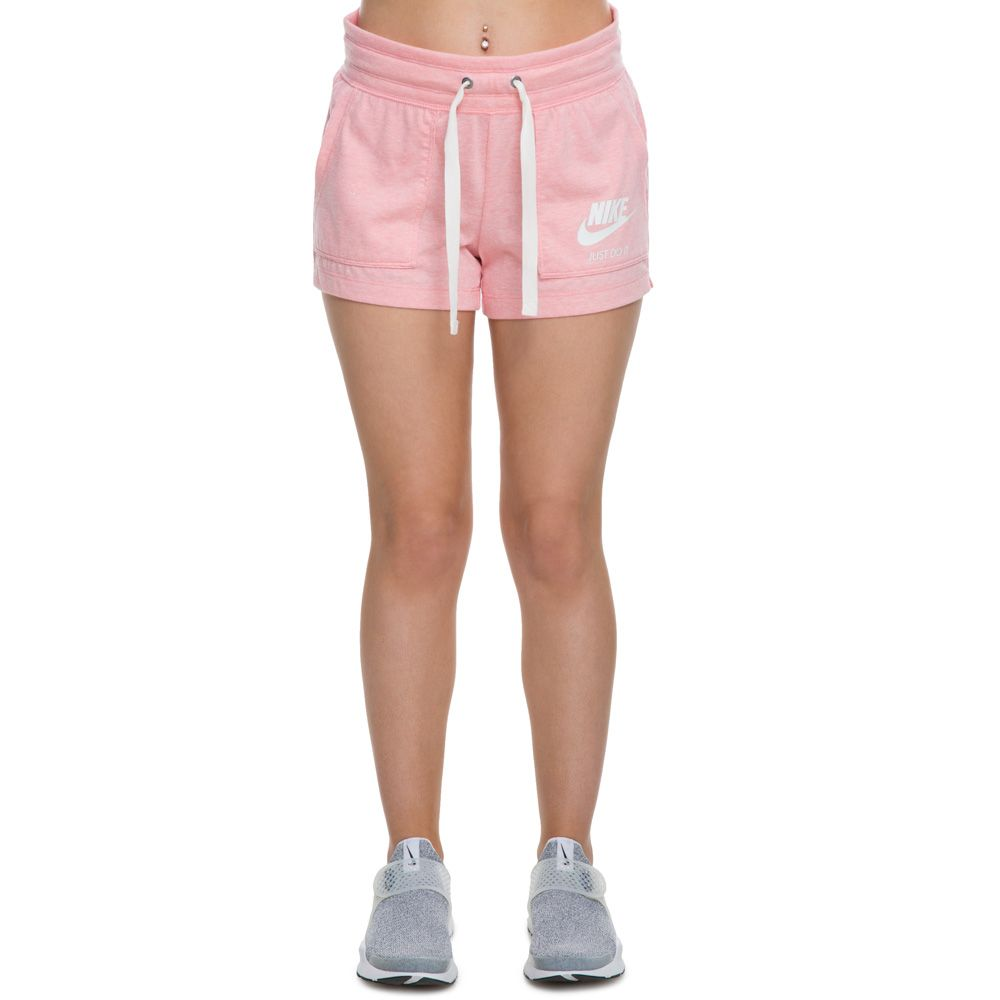 39a0ff2abd3250 WOMEN'S NIKE GYM VINTAGE SHORTS BLEACHED CORAL/SAIL
