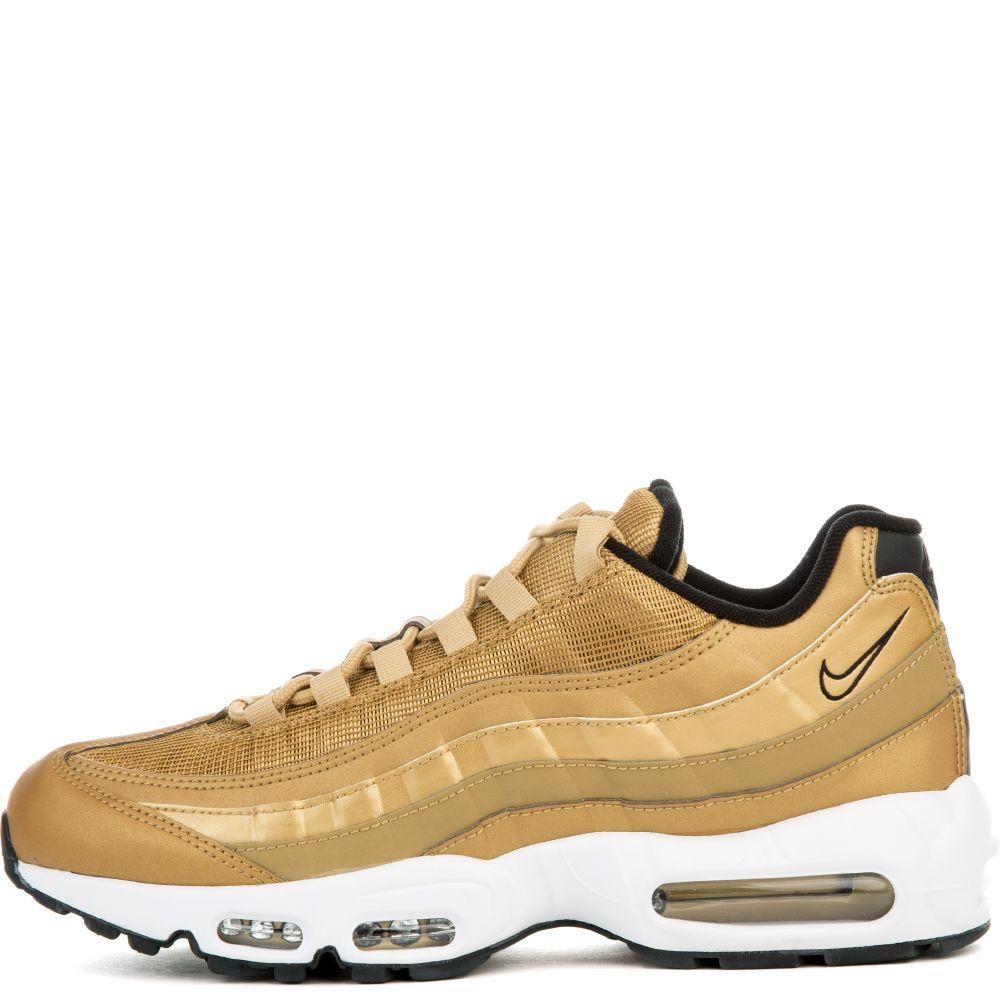 e57b56c883 air max 95 premium qs shoe metallic gold/varsity red-black-white
