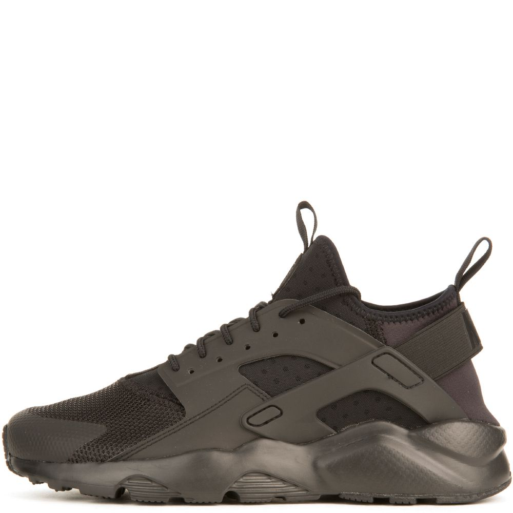 56c1b4c8e3f2 MEN S NIKE AIR HUARACHE RUN ULTRA BLACK BLACK-BLACK