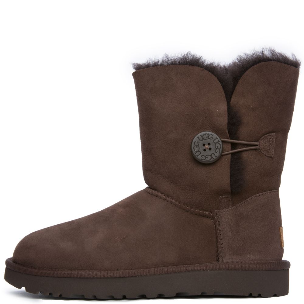 brown ugg boots with buttons