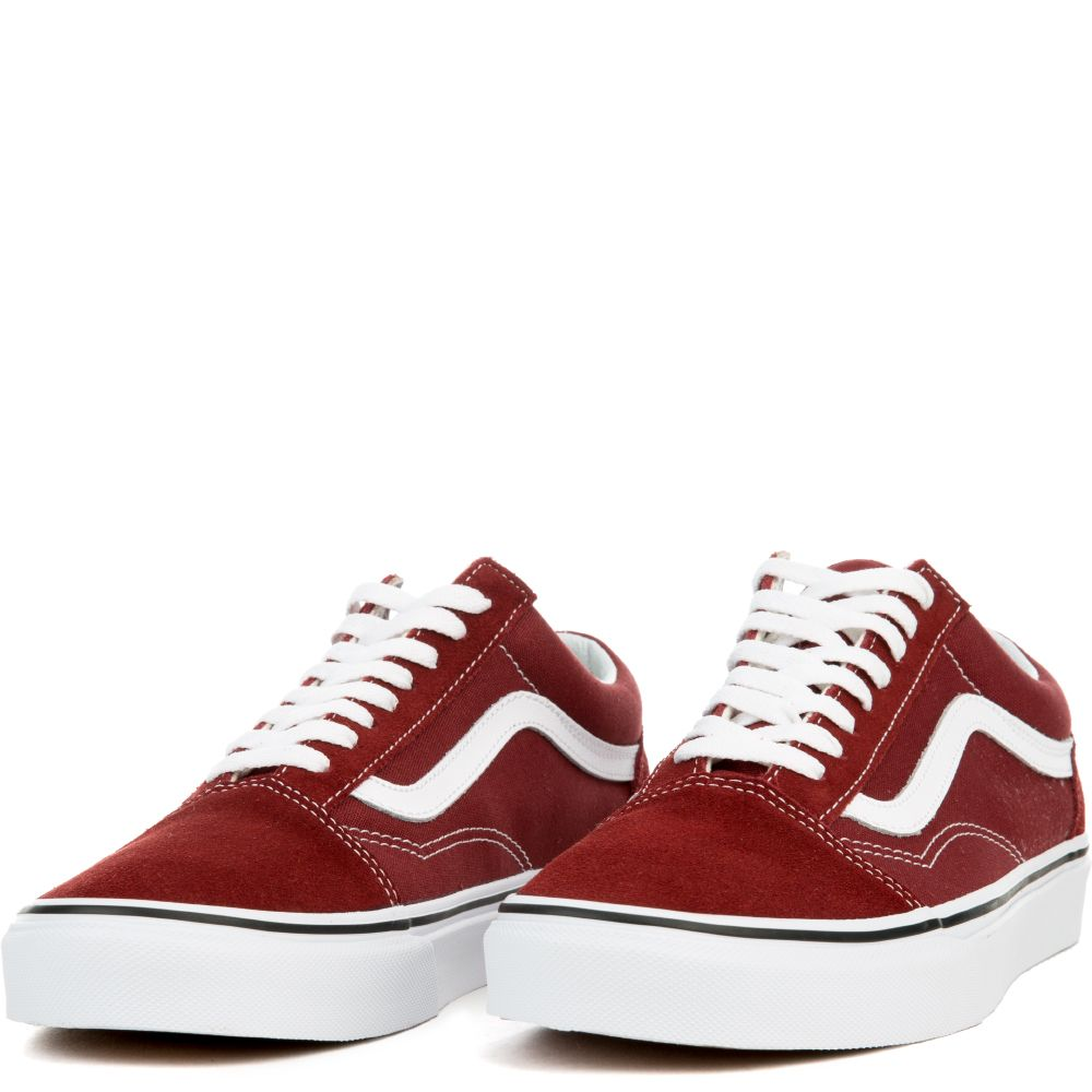 3a0982dfe796 UNISEX OLD SKOOL MADDER BROWN WHT