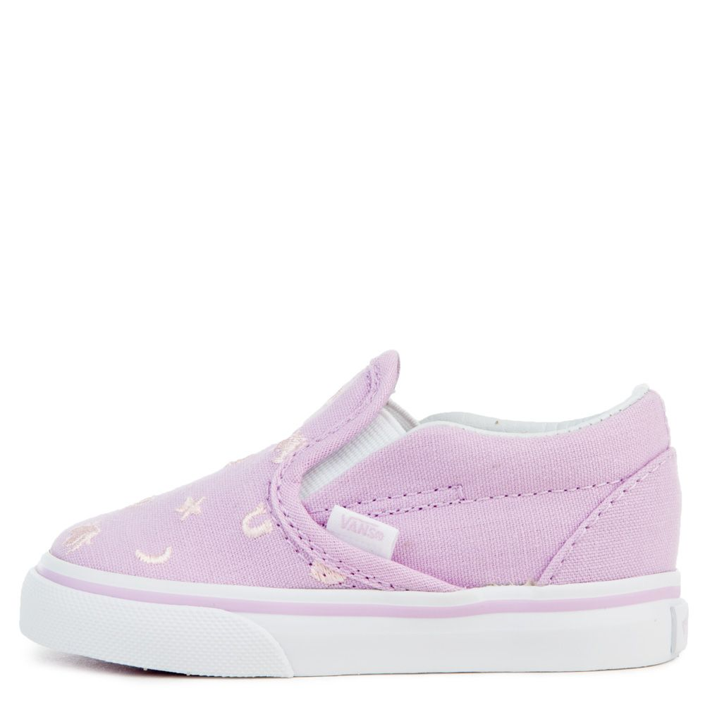 99187c2256 TODDLER VANS CLASSIC SLIP-ON (CHARMS) EMBROIDERY ...