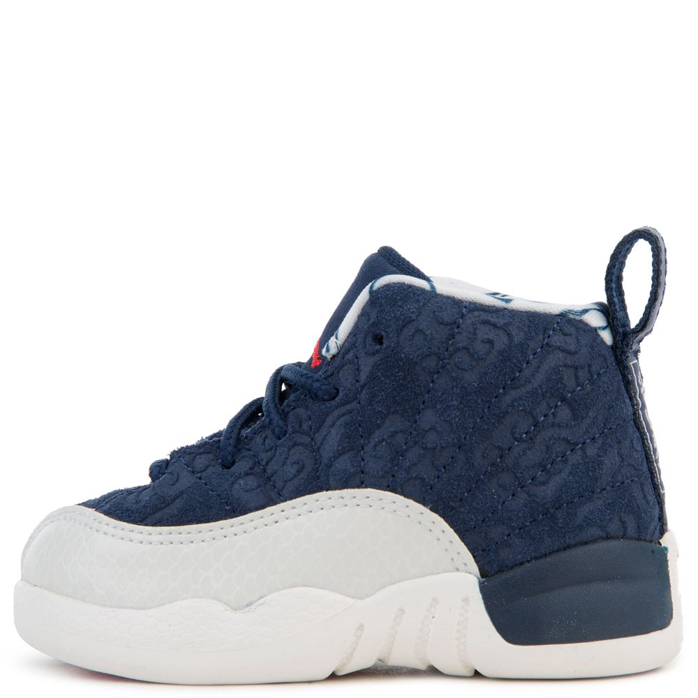 49ee54e91146 (TD) JORDAN 12 RETRO BT COLLEGE NAVY UNIVERSITY RED-SAIL