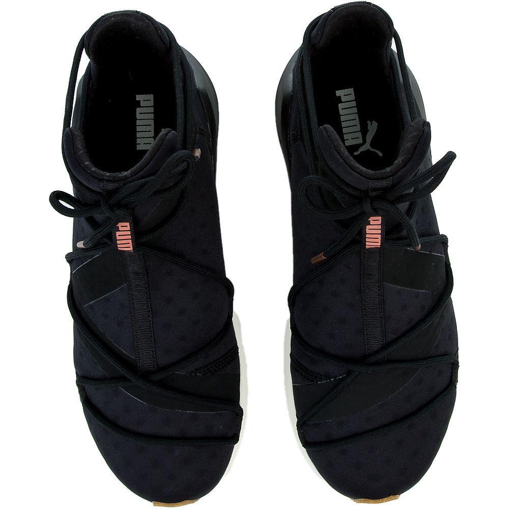 9d45ba4e1a3e Women s Fierce Rope VR Sneaker PUMA BLACK WHISPER WHITE