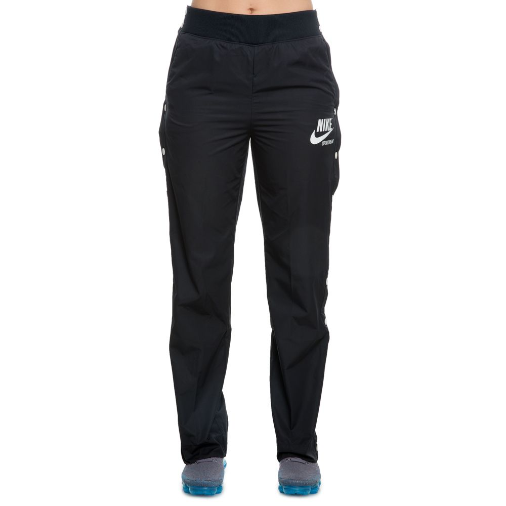 WOMEN S NIKE ARCHIVE SNAP PANT BLACK SAIL e088c372e