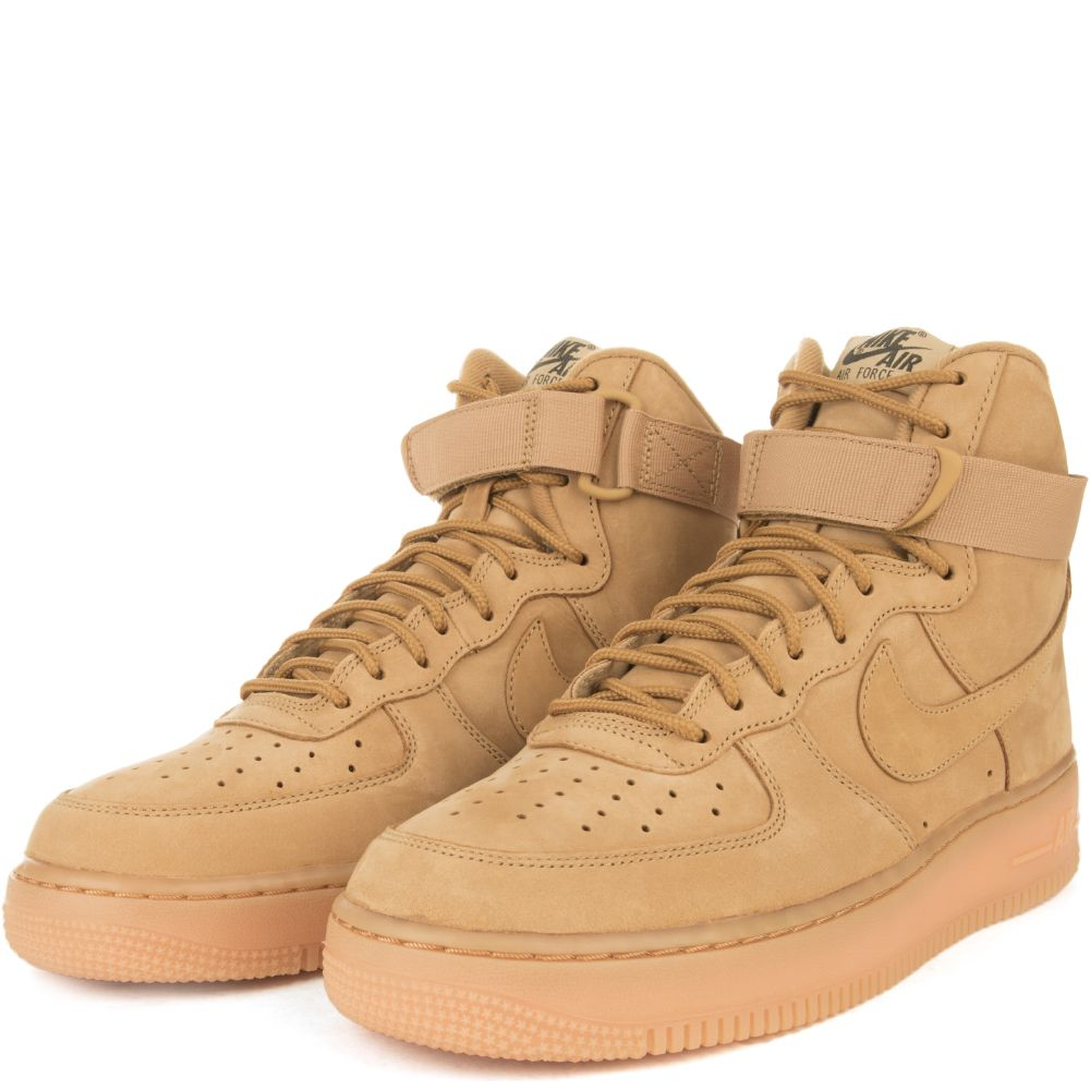 low priced bba84 678ee MEN S NIKE AIR FORCE 1 HIGH Wheat