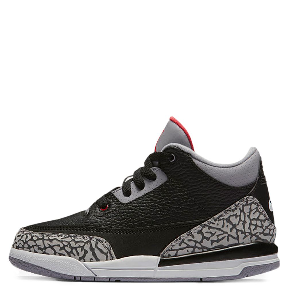 e52735c7a46 Air Jordan 3 Retro OG BLACK FIRE RED CEMENT GREY WHITE