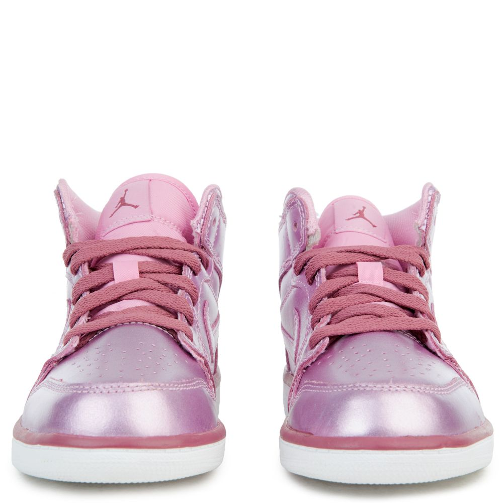low priced c1169 db49e (PS) AIR JORDAN 1 MID SE PINK RISE WHITE-NOBLE RED
