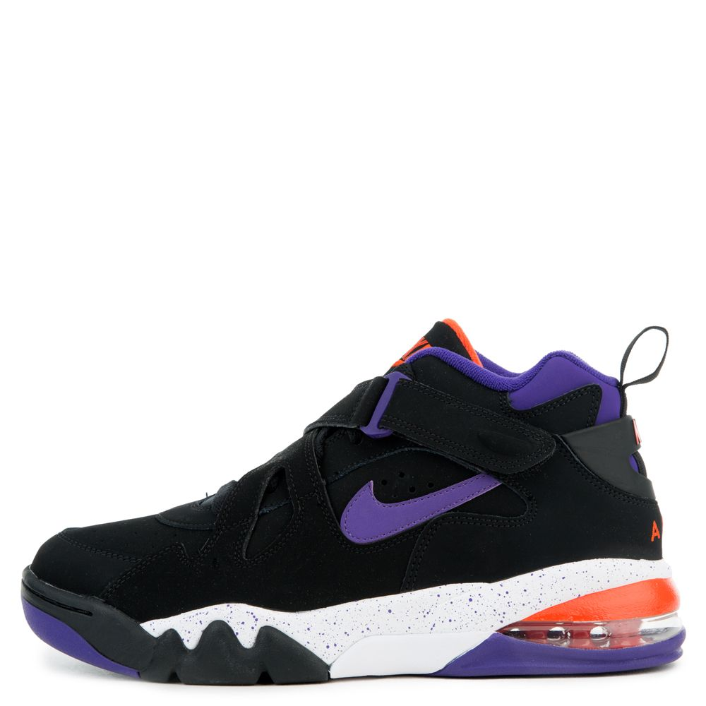 best sneakers d876b 8c9f4 AIR FORCE MAX CB BLACK COURT PURPLE-TEAM ORANGE-WHITE