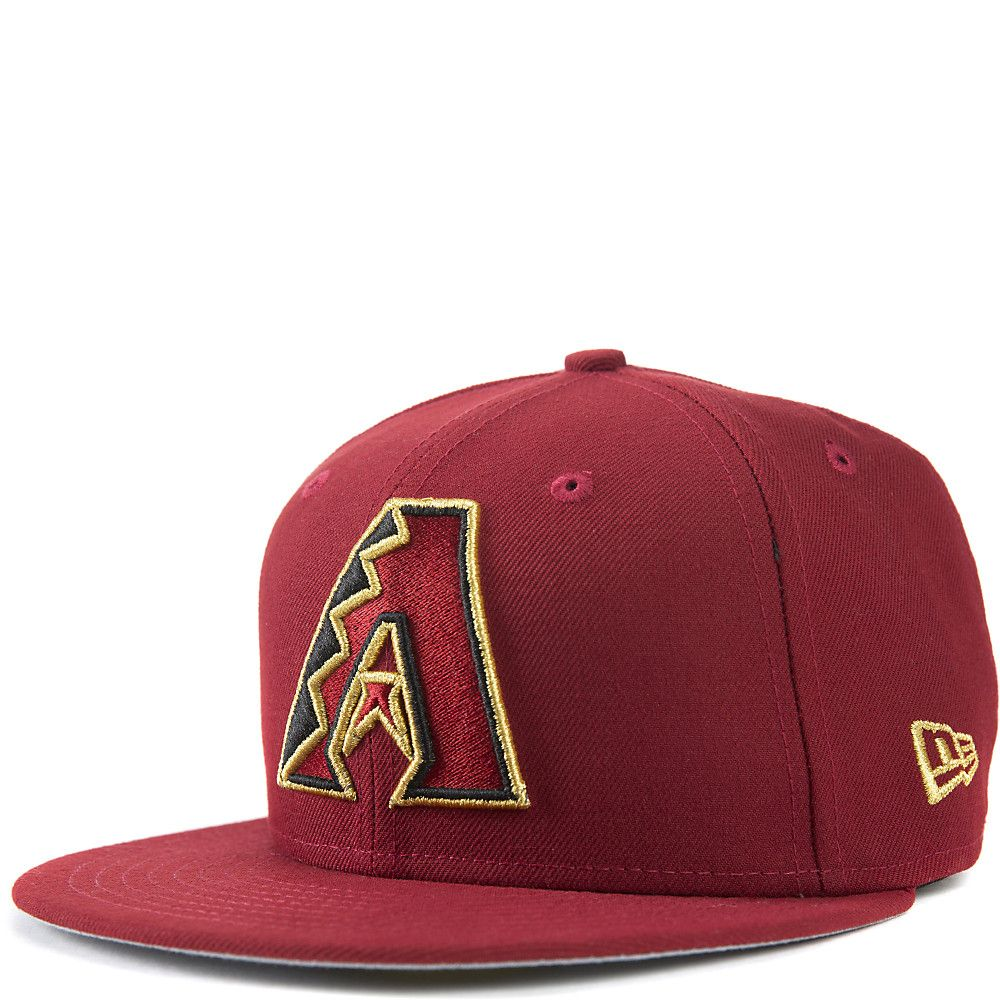 3a35495742e Arizona Diamondbacks Fitted Cap Burgundy