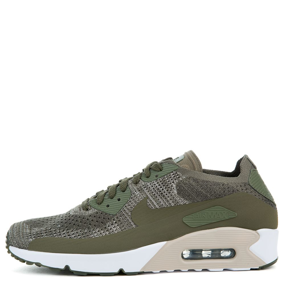 huge discount c86f2 68395 MEN'S AIR MAX 90 ULTRA 2.0 FLYKNIT MEDIUM OLIVE/MEDIUM OLIVE-STRING-STRING