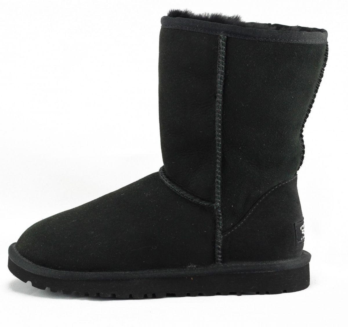 333adf3e0a6 UGG Australia for Women: Classic Short Black Boot BLACK