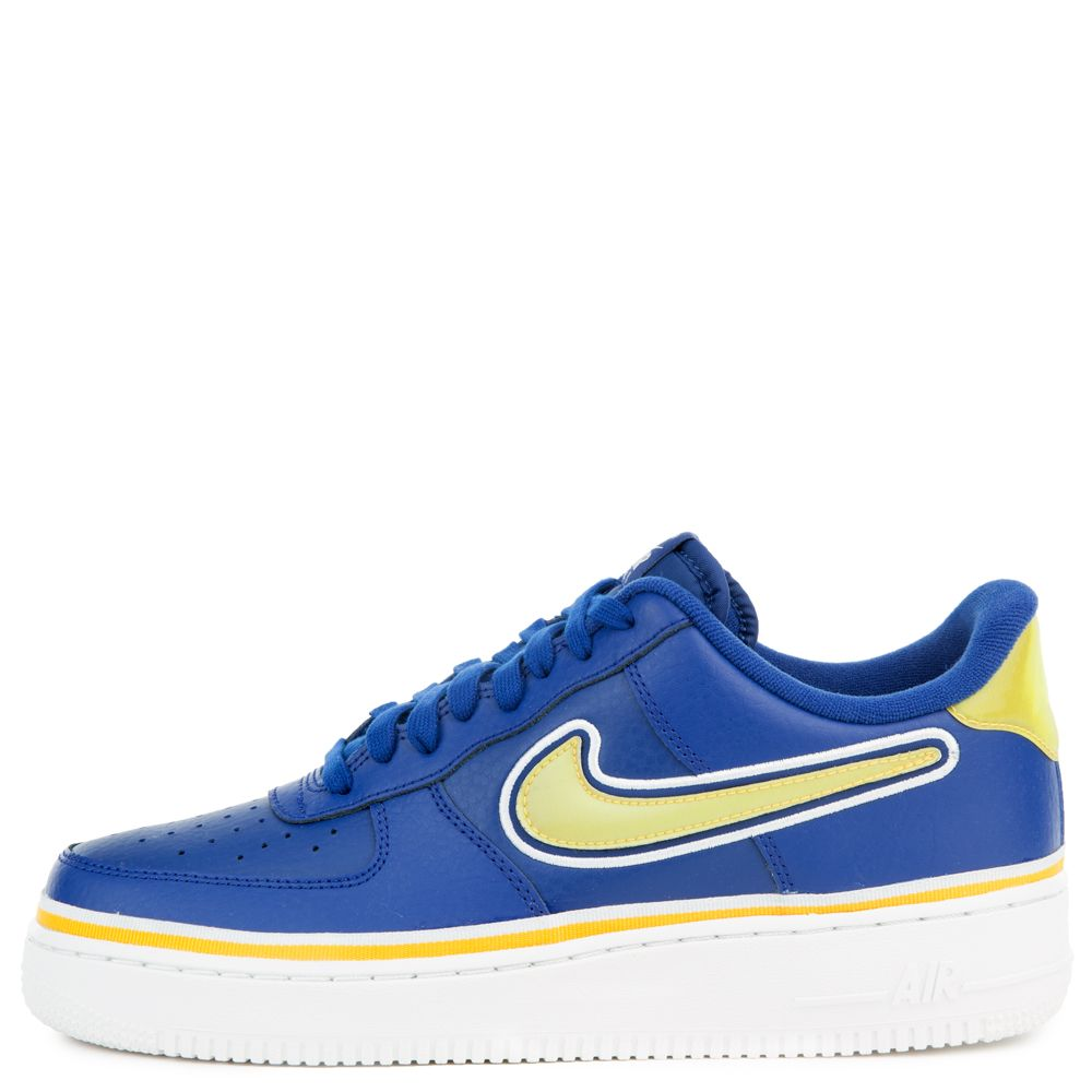 lowest price c1d9c f637f ... norway nike air force 1 07 lv8 deep royal university gold off white  2028c 44e25