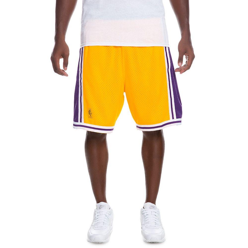 961871cc827 Men s Los Angeles Lakers Shorts PURPLE GOLD