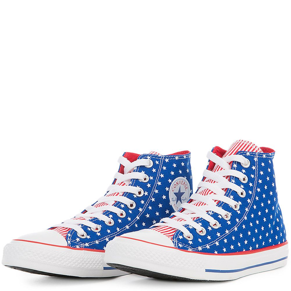 e66315de3468 Unisex Chuck Taylor All Star Hi Red White Blue