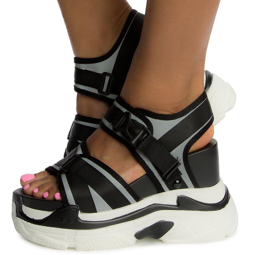 Sandal Platform Women's Platform Black Black Pomelo Pomelo Sandal Pomelo Women's Platform Women's Sandal kiuPZX