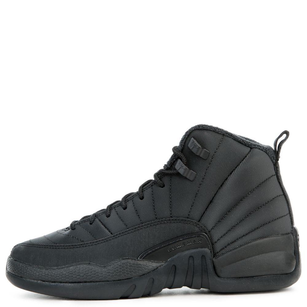 260e9213fb3 (gs) air jordan 12 retro winterized black black-anthracite