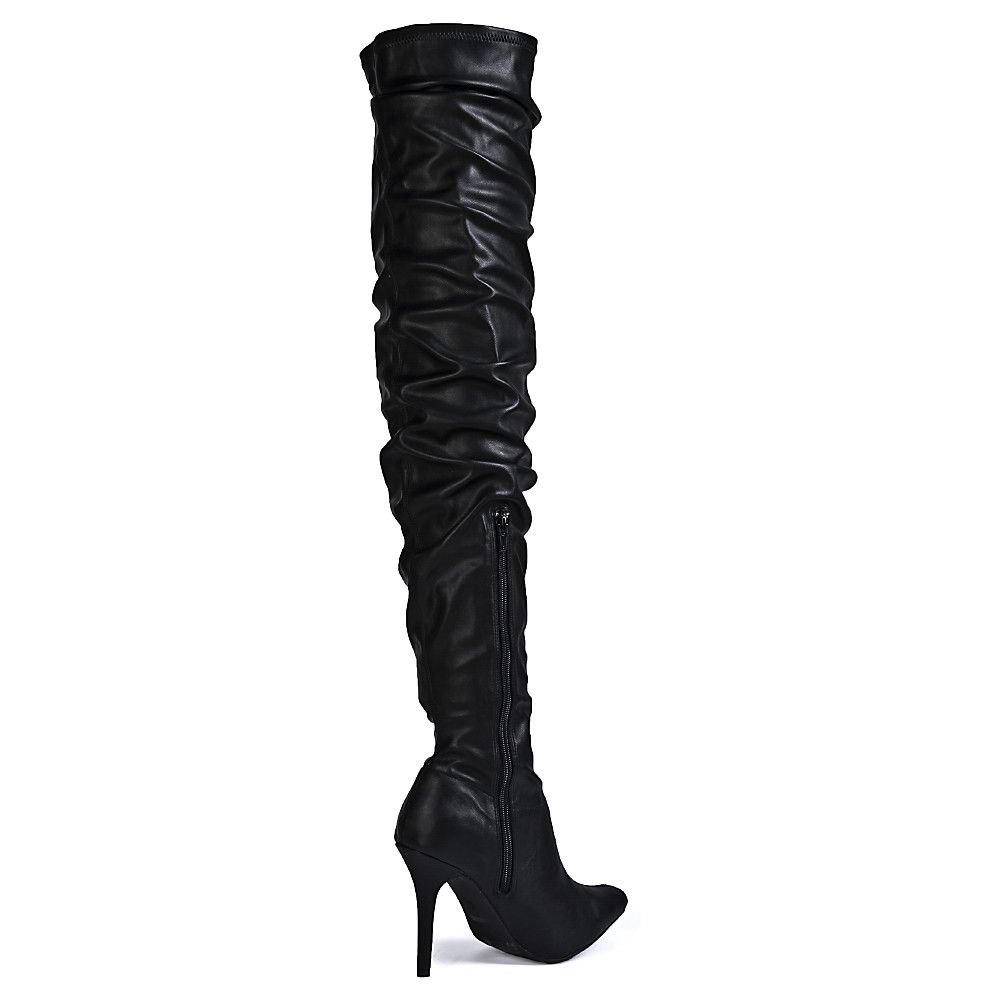 8c09a1f719f Women s Monet-23V Knee-High Boot BLACK