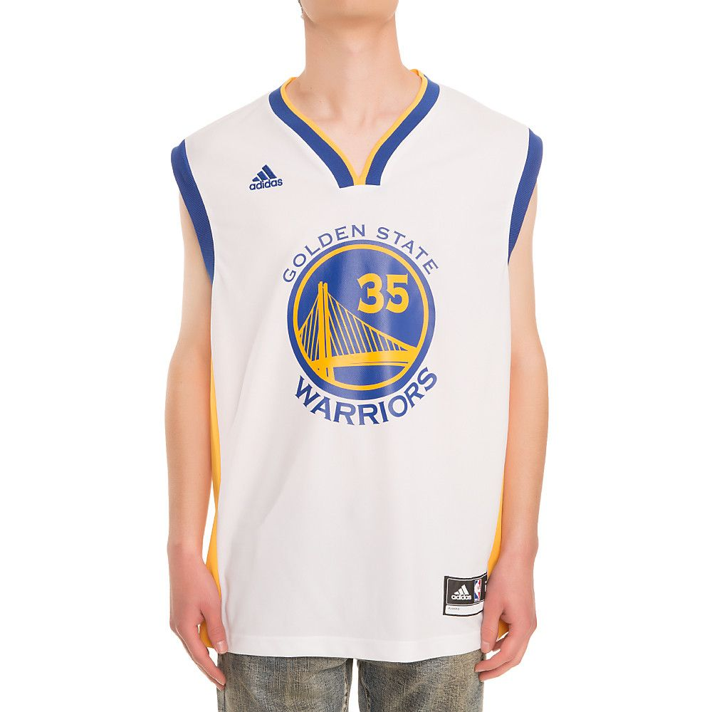 new arrivals f6442 b81f4 Golden State Warriors Kevin Durant Replica Road Jersey Blue