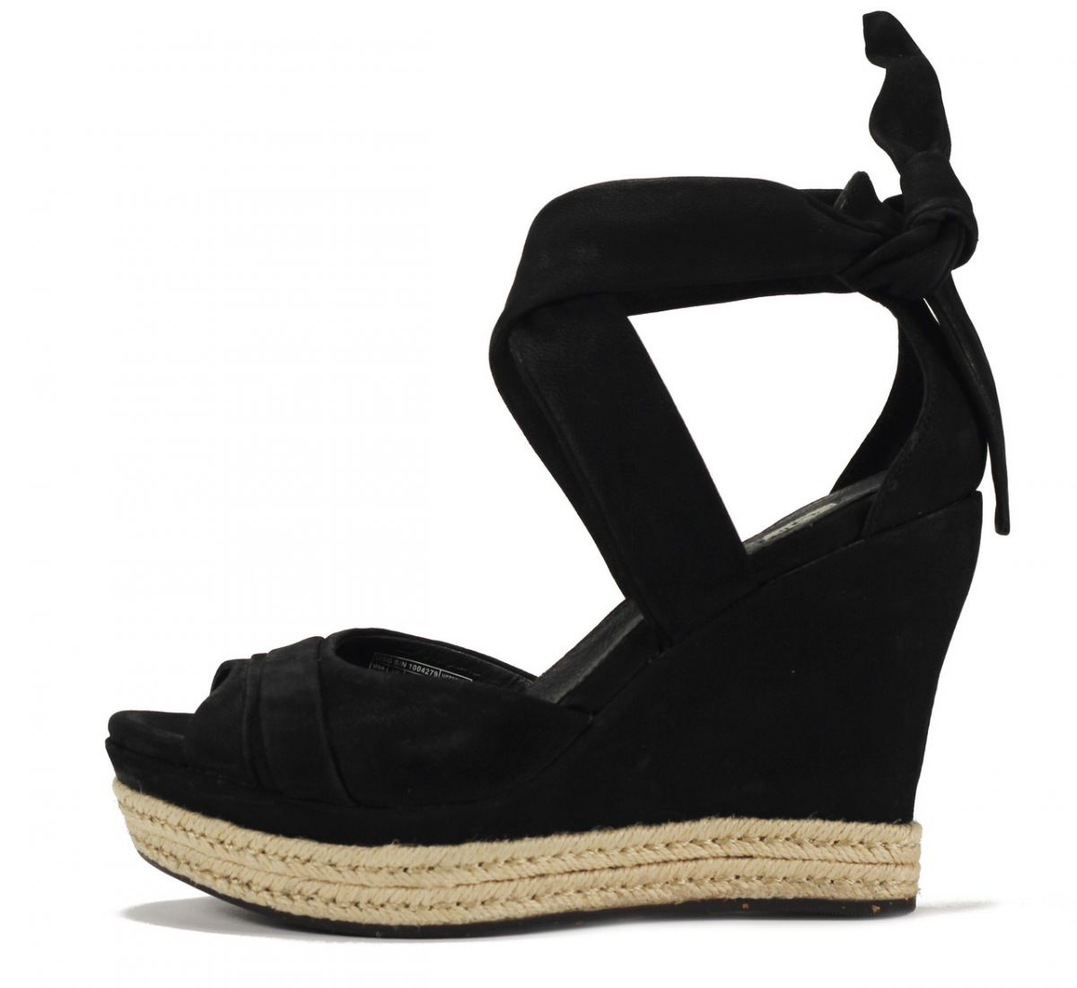 91c897eaf4 UGG Australia for Women: Lucy Black Wedge Sandal BLACK. Special Price  $128.99 Regular Price $160.00