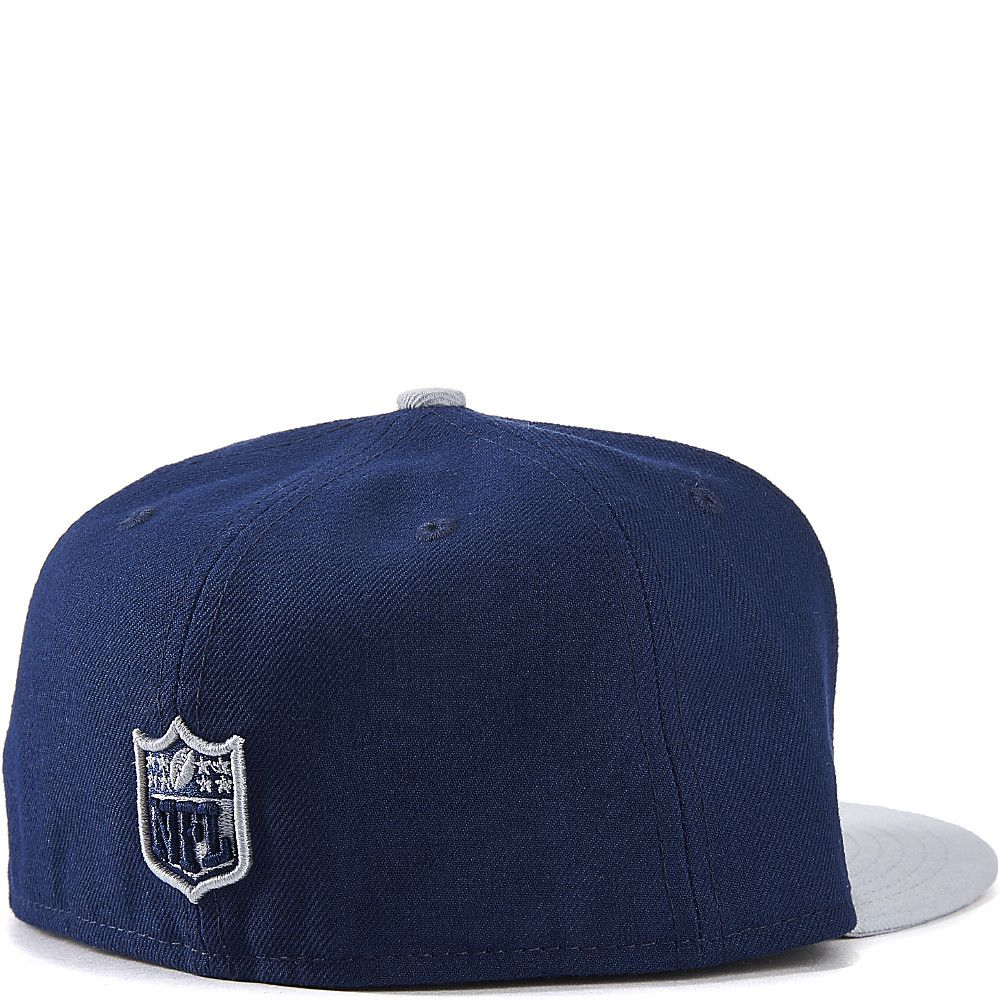 Dallas Cowboys Fitted Cap Navy Grey 0a16378e9