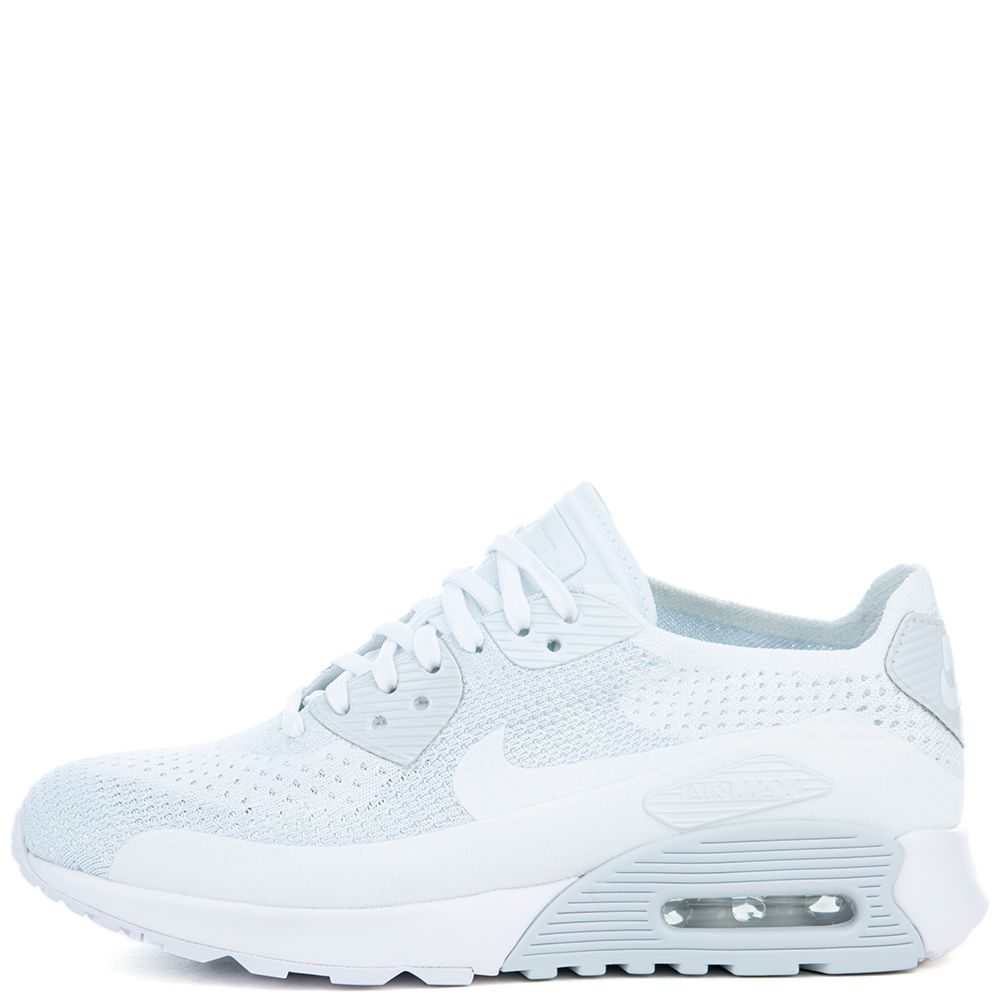 bfe08ecf8ca32 Air Max 90 Ultra 2.0 Flyknit WHITE WHITE-PURE PLATINUM