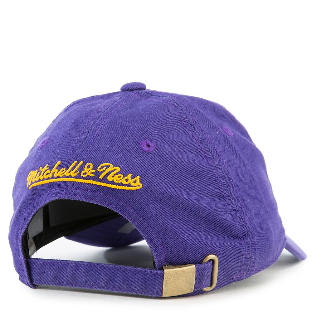 Los Angeles Lakers Strapback Hat Purple Yellow c39be768e76