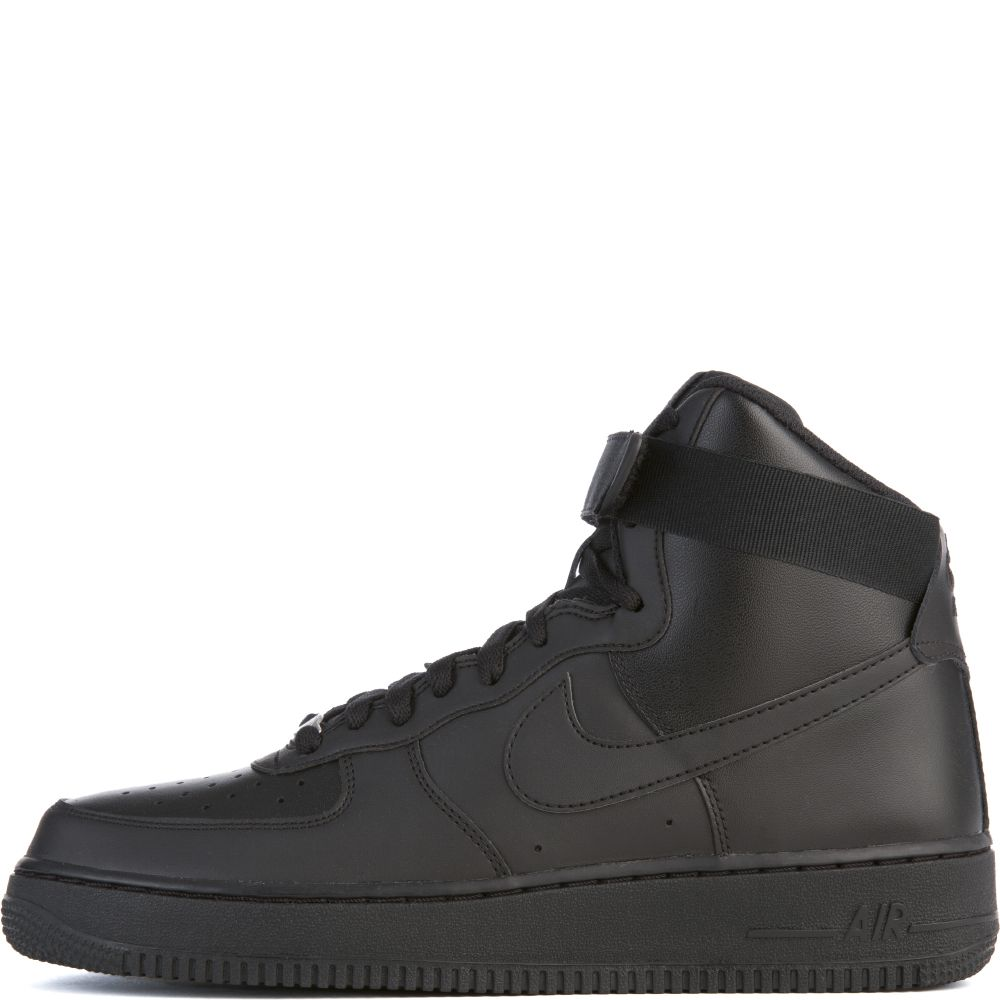 Force High Nike Air Men's '07 1 Blackblack TKc1J3lF