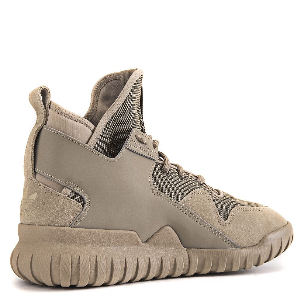 Men s Tubular X Athletic Lifestyle Sneaker Taupe 0213fca08596