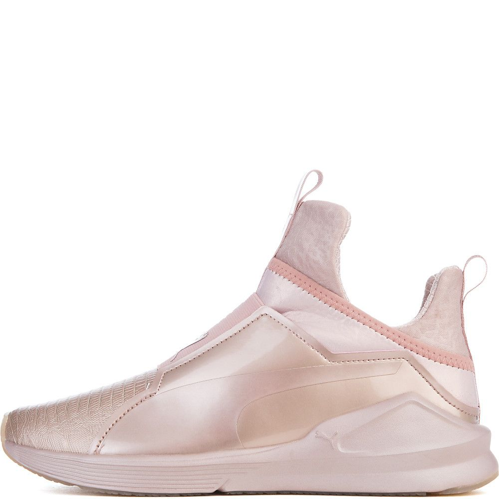 e2bf0e6156c0 Women s Fierce Metallic Athletic Lifestyle Sneaker Rose Gold