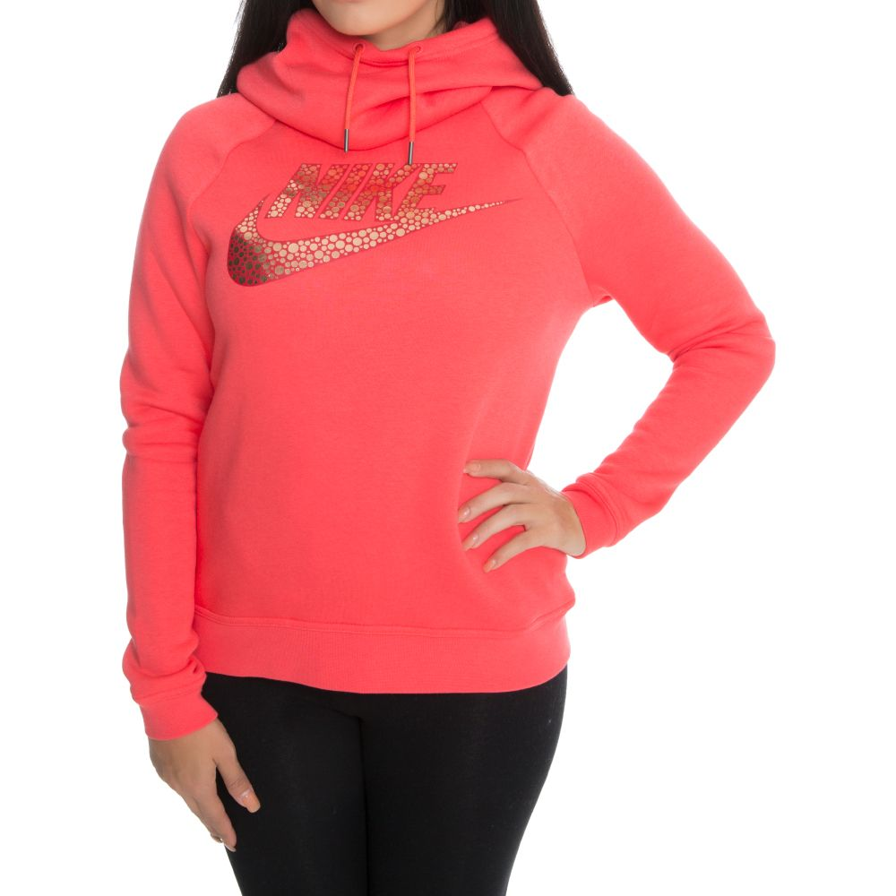 Rally Pullover Hoodie Ember Glow Red Bronze faf27a585a
