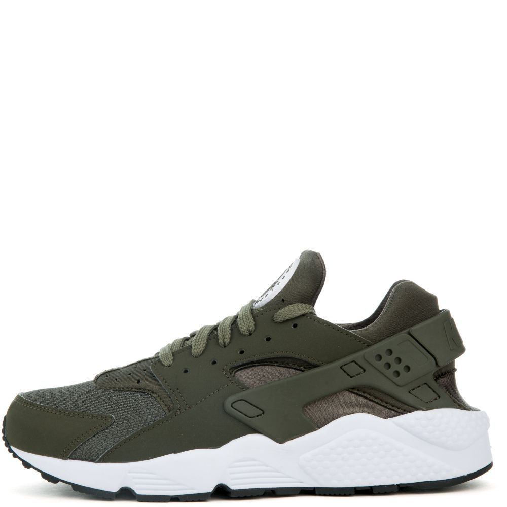 db003546f3b194 MEN S NIKE AIR HUARACHE CARGO KHAKI CARGO KHAKI-WHITE-BLACK
