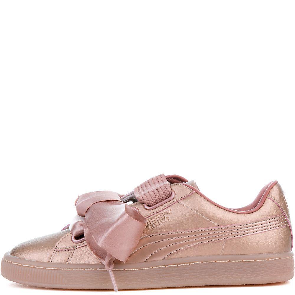 a6e849323e1 Women's Basket Heart Copper Sneaker COPPER ROSE