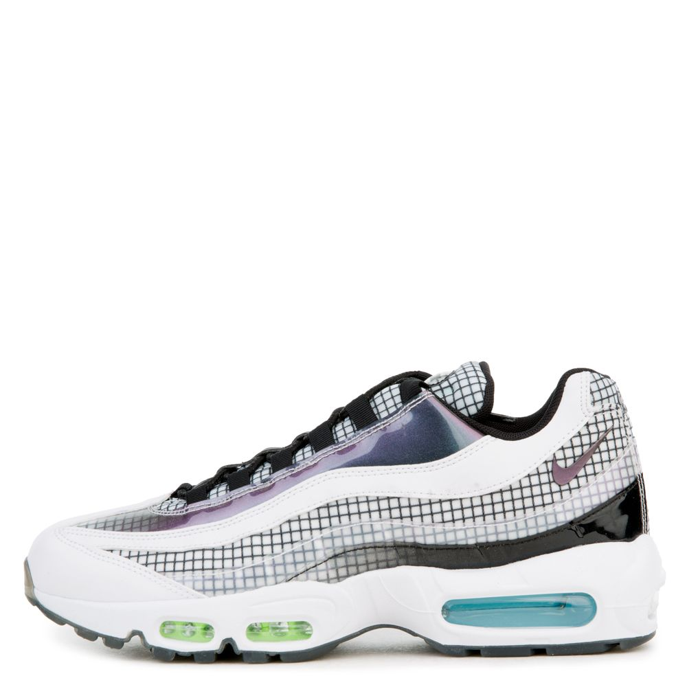 b16d6920e4 AIR MAX 95 LV8 WHITE/BLACK-BLUE GAZE-LIME BLAST