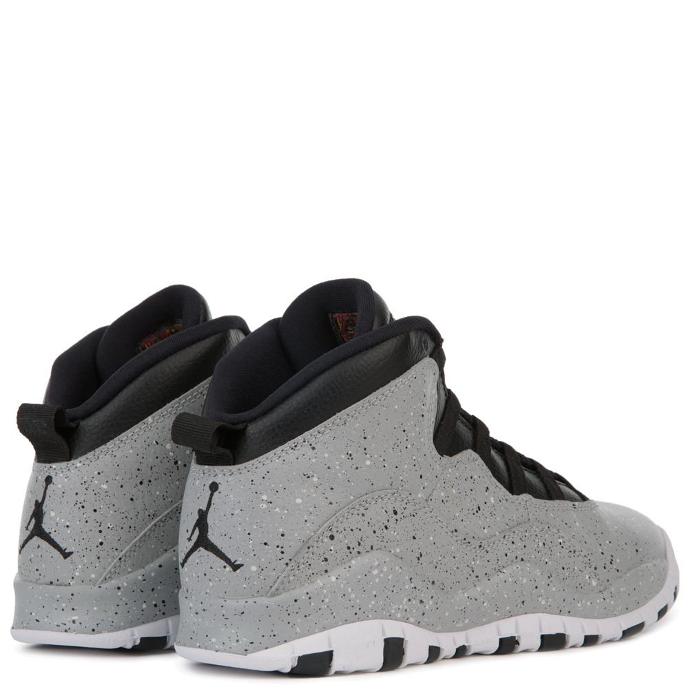 8e9bc1f4854 AIR JORDAN 10 RETRO (BG) LT SMOKE GREY/BLACK-INFRARED 23-WHITE