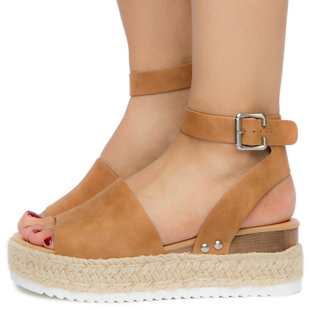 Nbpu Sandal Platform Women's Tan Women's Platform Sandal lJ3FcTK1