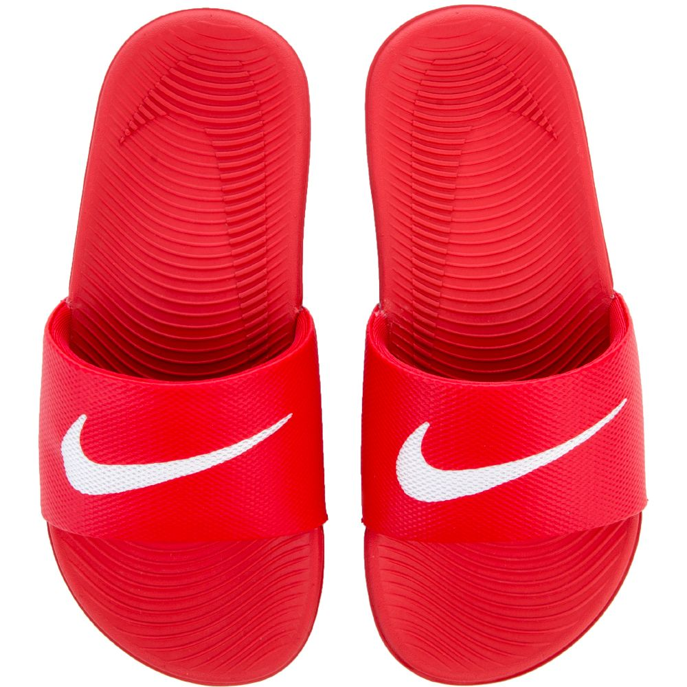 166320650f026e NIKE KAWA SLIDE (GS PS) university red white