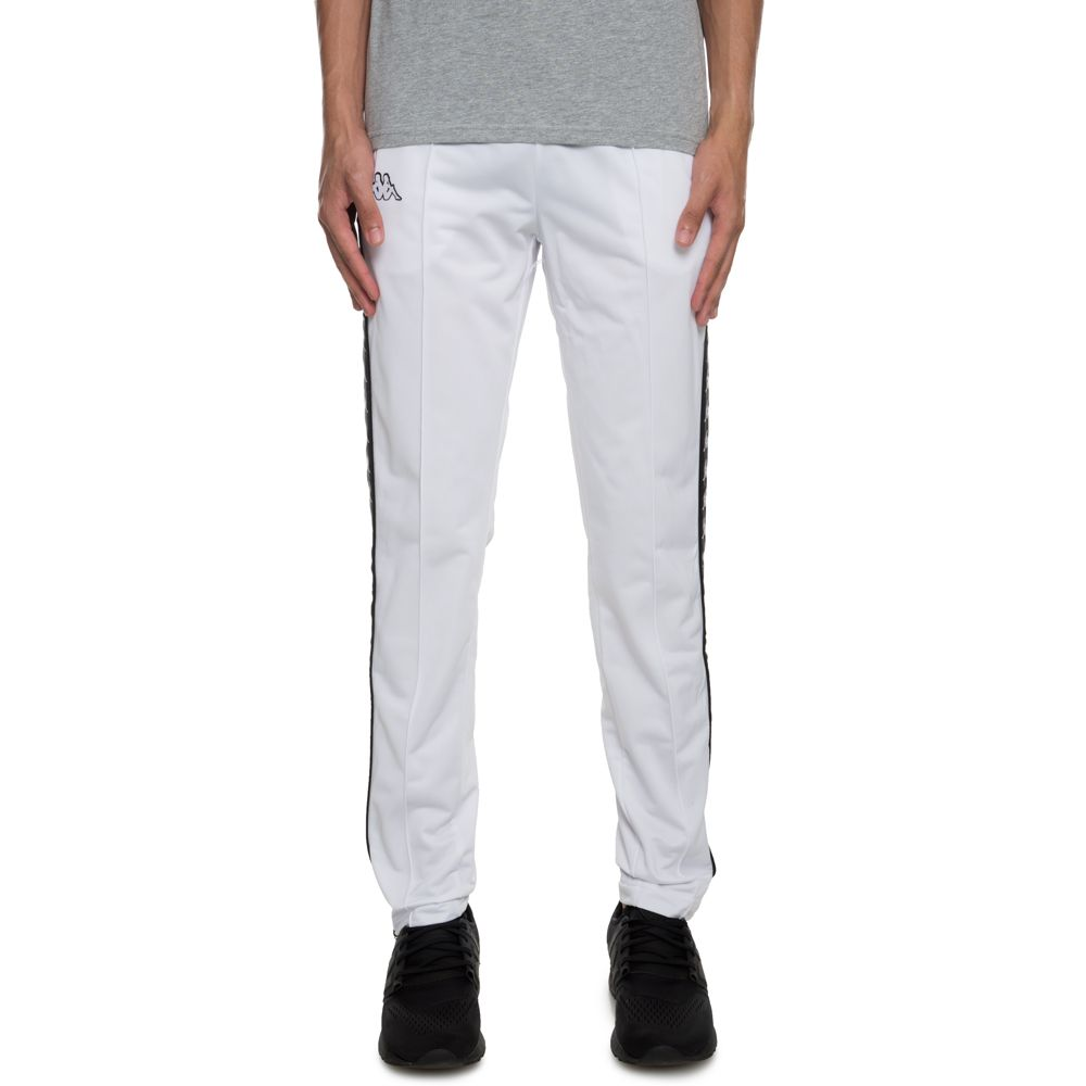 320725b7 222 BANDA ASTORIA SL Track Pants WHITE-BLACK