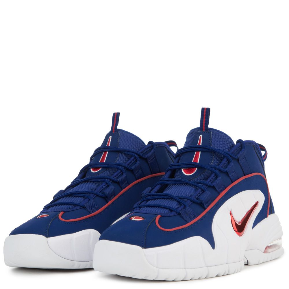 newest e83bb b74d1 ... MEN S NIKE AIR MAX PENNY DEEP ROYAL BLUE GYM RED WHITE ...