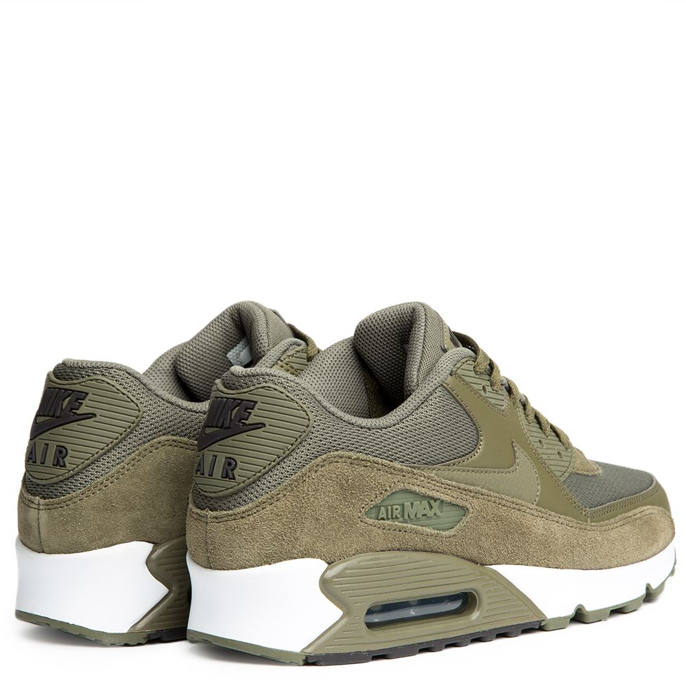 separation shoes 8c7c4 bc910 MENS NIKE AIR MAX 90 ESSENTIAL MEDIUM OLIVEMEDIUM OLIVE-VELV