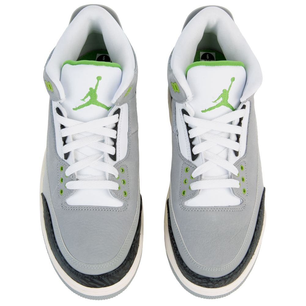 AIR JORDAN 3 RETRO LT SMOKE GREY CHLOROPHYLL-BLACK-WHITE 5989298b8