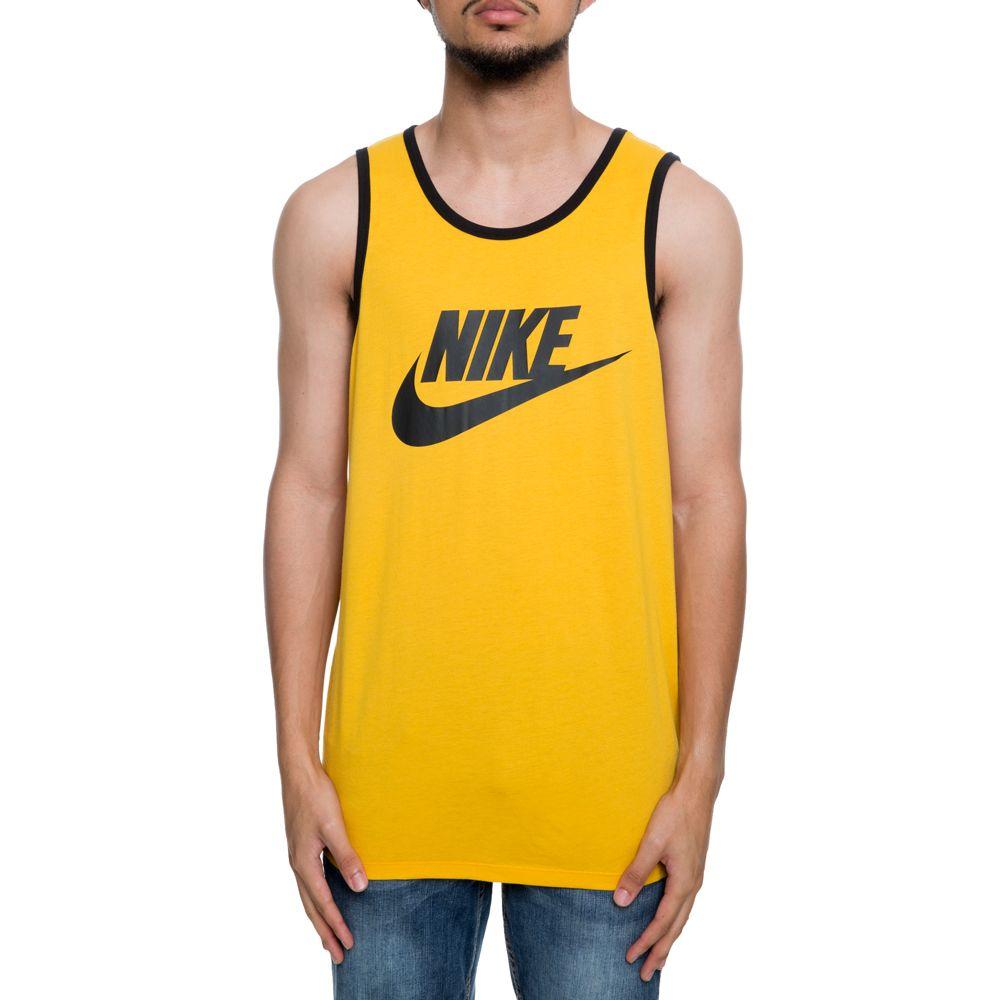 80b779bc52 men s nike sportswear tank ace logo yellow ochre black black