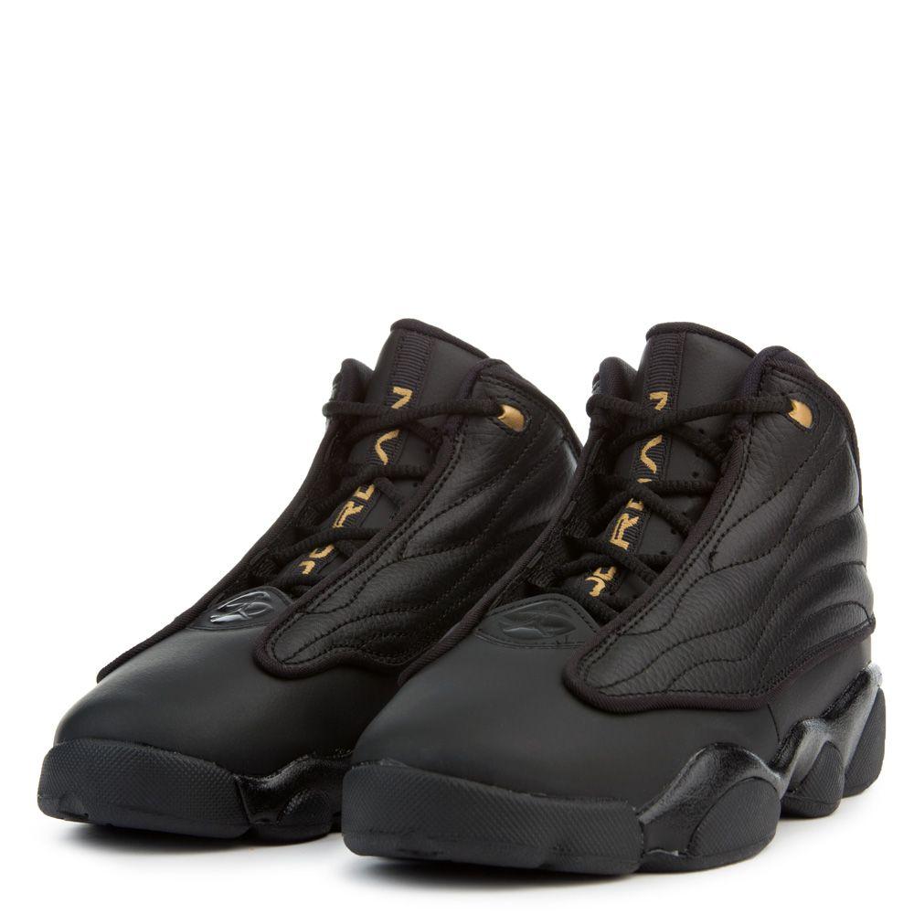 1a81350fa630 Jordan Pro Strong BLACK METALLIC GOLD