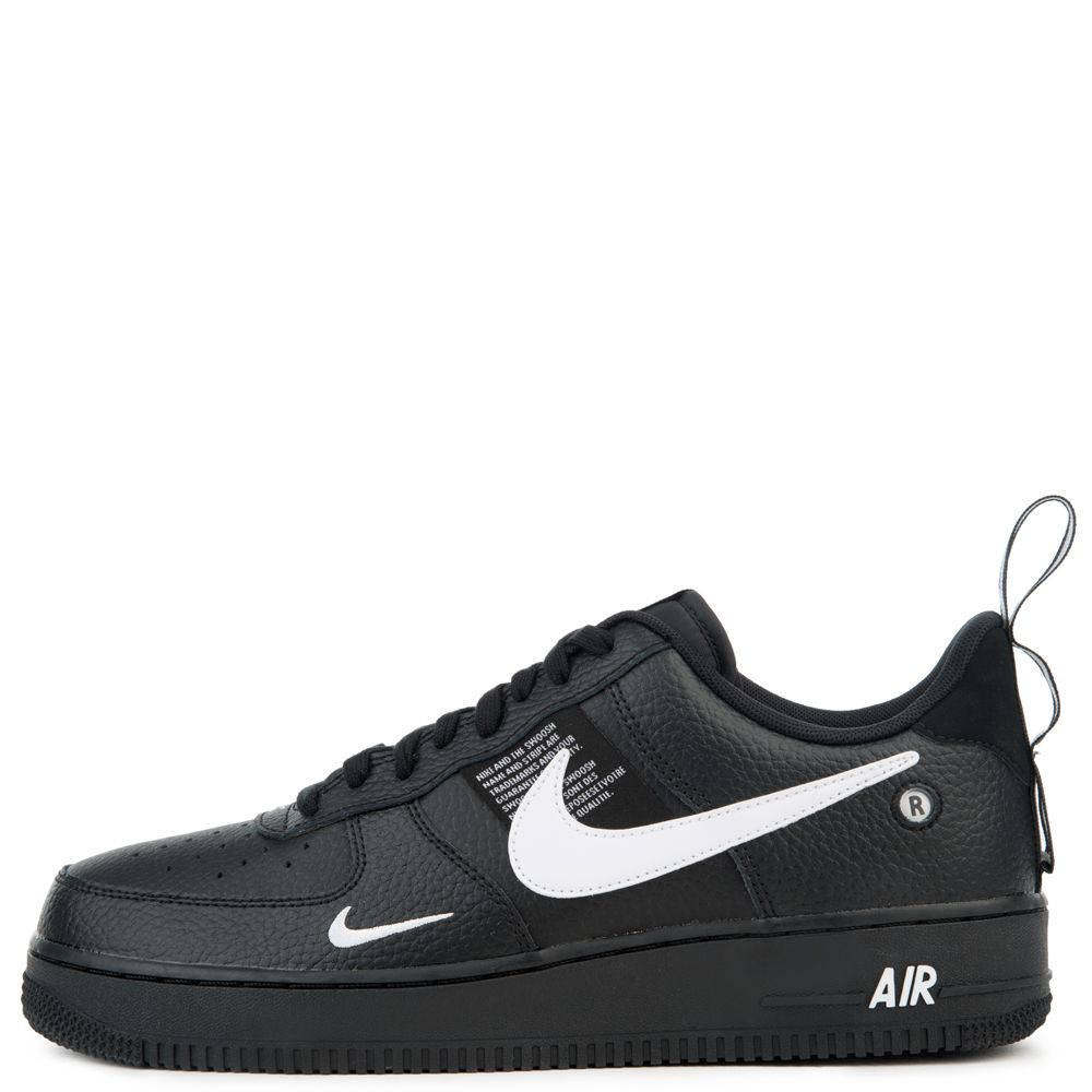9308dbc3a1d0 AIR FORCE 1  07 LV8 UTILITY BLACK WHITE-BLACK-TOUR YELLOW