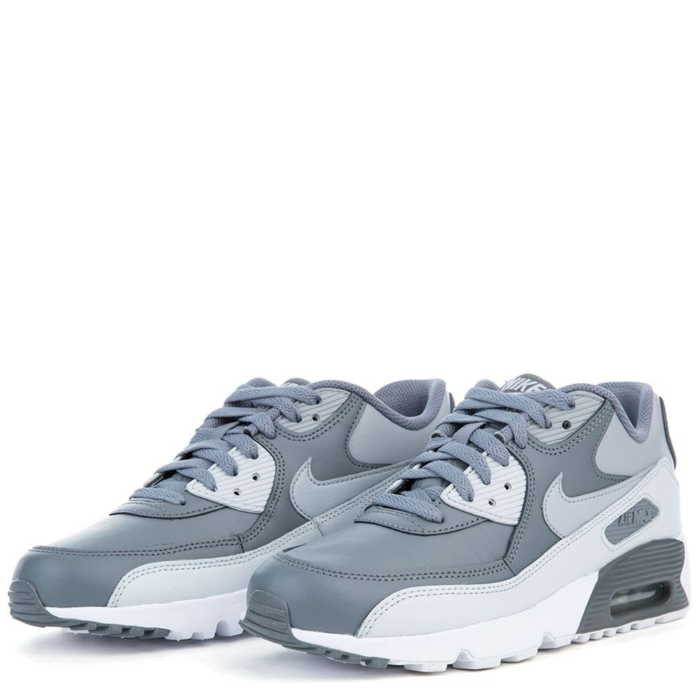 info for a081f 35824 AIR MAX 90 LTR (GS) COOL GREY WOLF GREY-PURE PLATINUM-WHITE