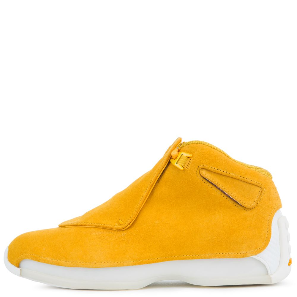 cdf4dc4c2dc026 AIR JORDAN 18 RETRO YELLOW OCHRE YELLOW OCHRE-SAIL